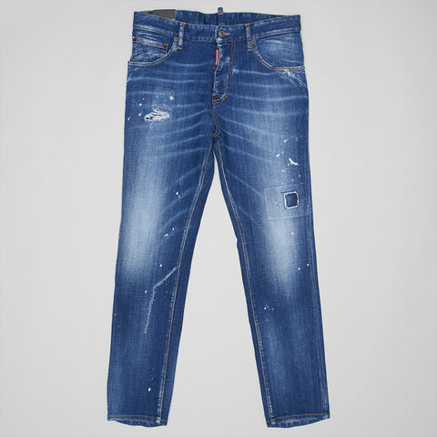 DSQUARED2 BORN IN CANADA SKINNY STRAIGHT JEANS
