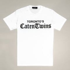 DSQUARED2 CATEN TWINS T-SHIRT WHITE