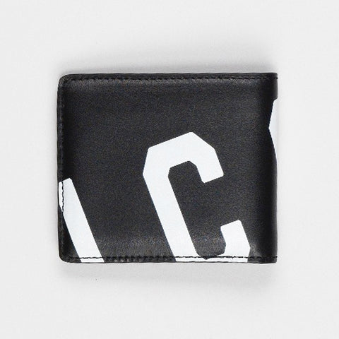 DSQUARED2 ICON LOGO LEATHER WALLET BLACK