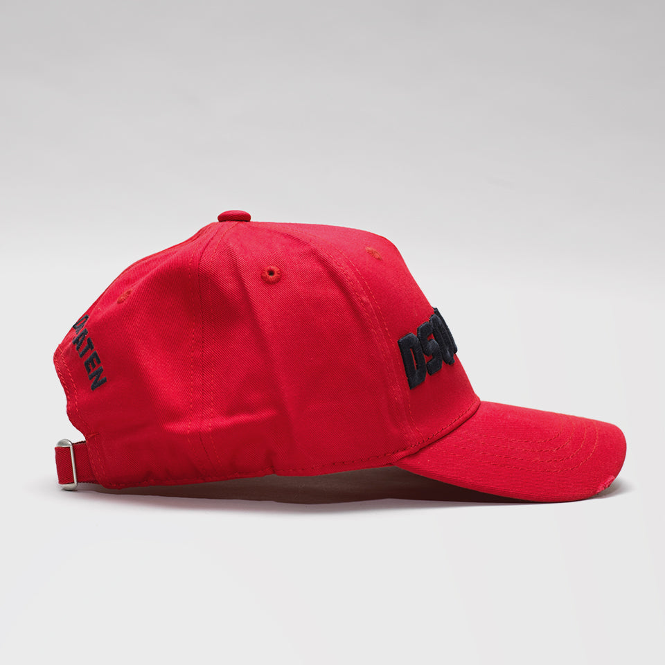 DSQUARED2 BASEBALL CAP RED