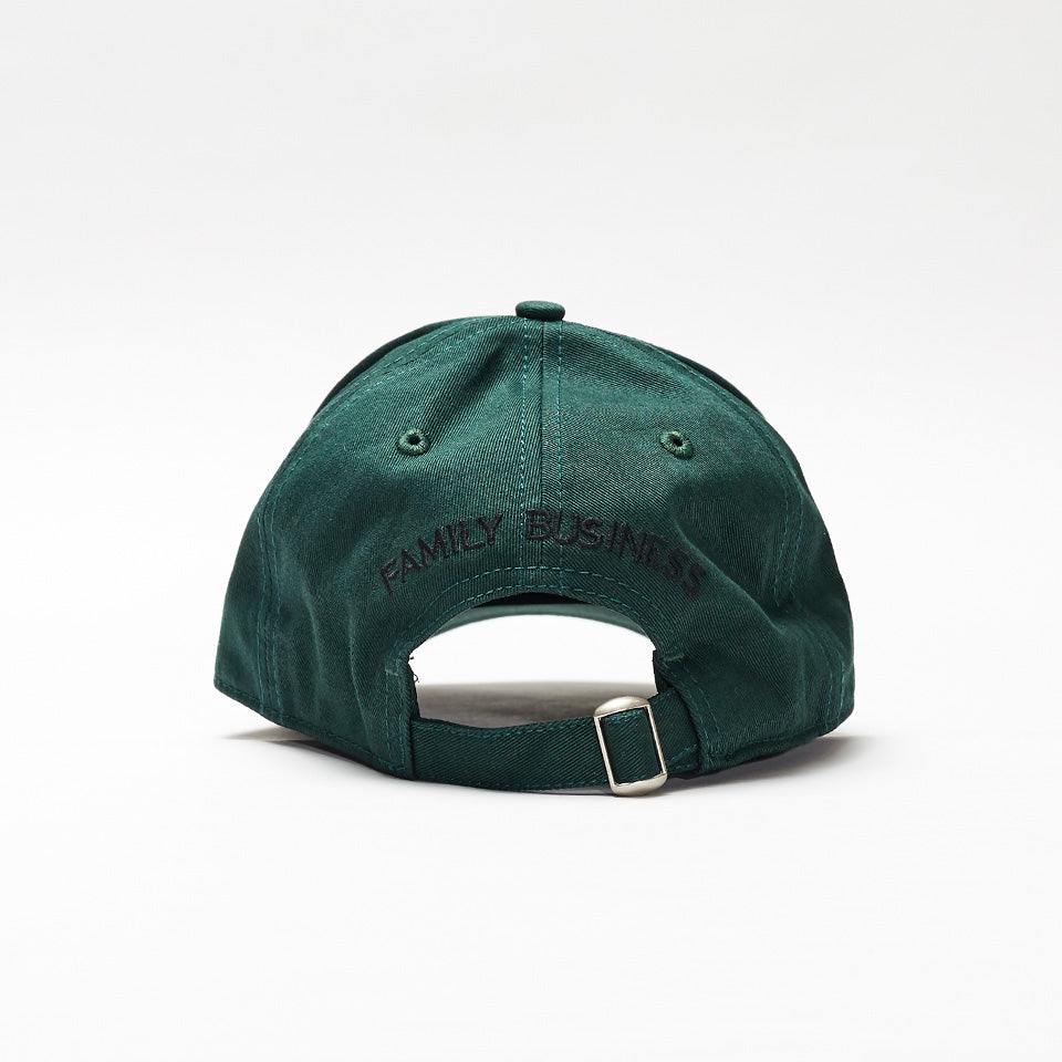 DSQUARED2 PATCH EMBROIDERED BASEBALL CAP GREEN