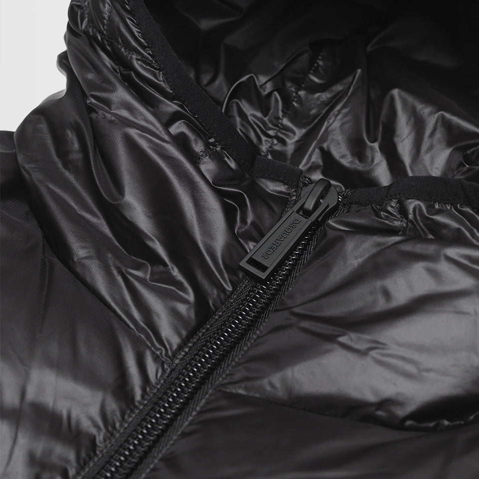 DSQUARED2 LOGO DOWN JACKET BLACK