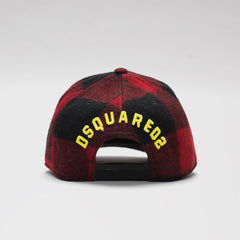 DSQUARED2 CHECKED BASEBALL CAP