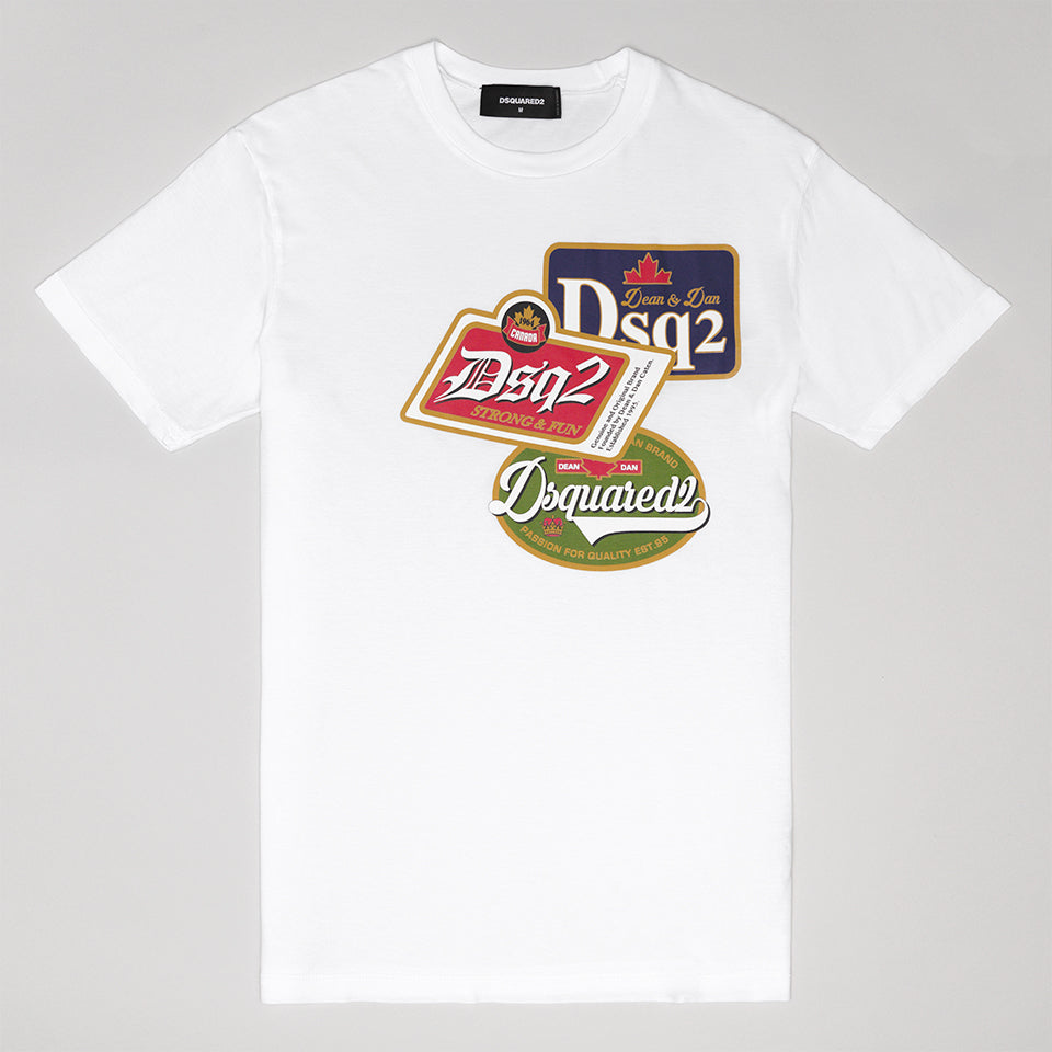 available shop for original great discount DSQUARED2 DSQ2 T-SHIRT WHITE