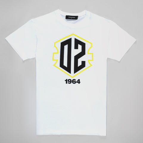 DSQUARED2 1964 T-SHIRT WHITE