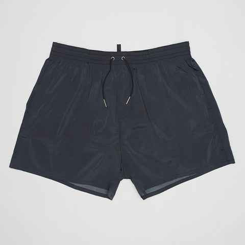 DSQUARED2 ICON SWIM SHORTS BLACK/BLUE