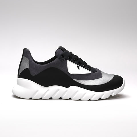 FENDI MONSTER RUNNER BLACK/SILVER