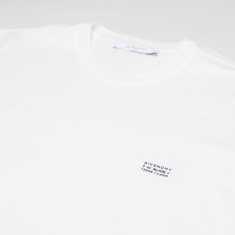 GIVENCHY ATELIER PATCH SLIM FIT T-SHIRT