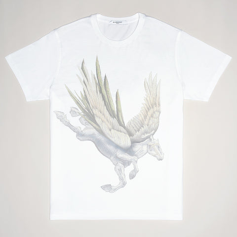 GIVENCHY PEGASUS T-SHIRT WHITE