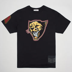 GIVENCHY CHEETAH T-SHIRT BLACK