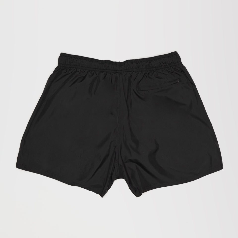 GIVENCHY LOGO PRINT SHORT SWIM SHORTS BLACK