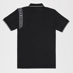 GIVENCHY 4G WEBBING POLO SHIRT BLACK