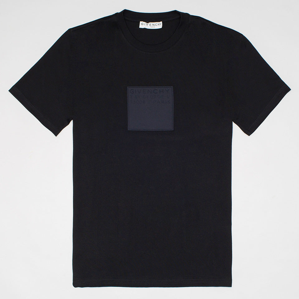 GIVENCHY ADDRESS PATCH SLIM FIT T-SHIRT
