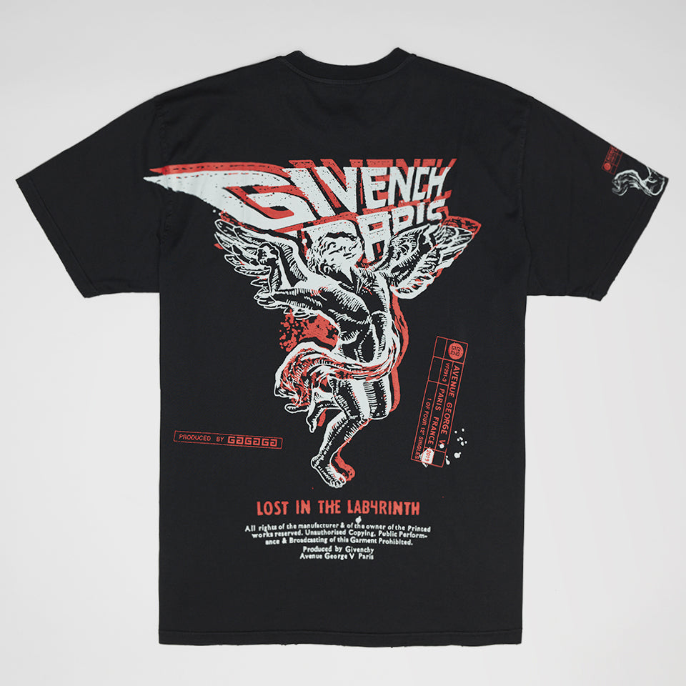 GIVENCHY PRINTED T-SHIRT BLACK