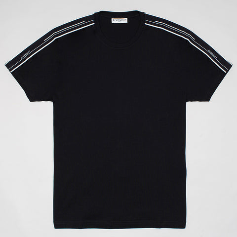 GIVENCHY CONTRASTED T-SHIRT BLACK