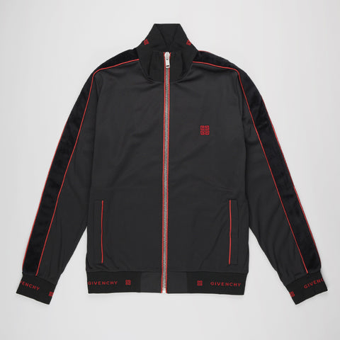 GIVENCHY ZIP-THROUGH SWEATSHIRT/JACKET BLACK