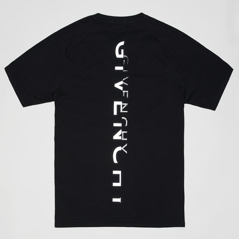 GIVENCHY REFLECTIVE LOGO T-SHIRT BLACK