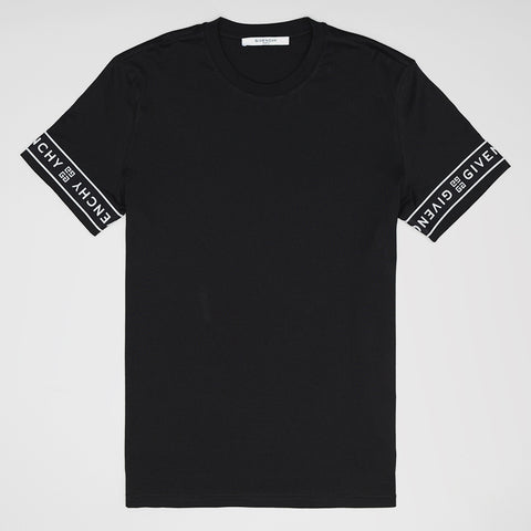 GIVENCHY 4G CONTRASTED T-SHIRT BLACK