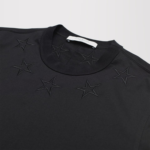 GIVENCHY STAR T-SHIRT BLACK