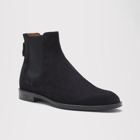 GIVENCHY CHELSEA ZIP BOOTS BLACK