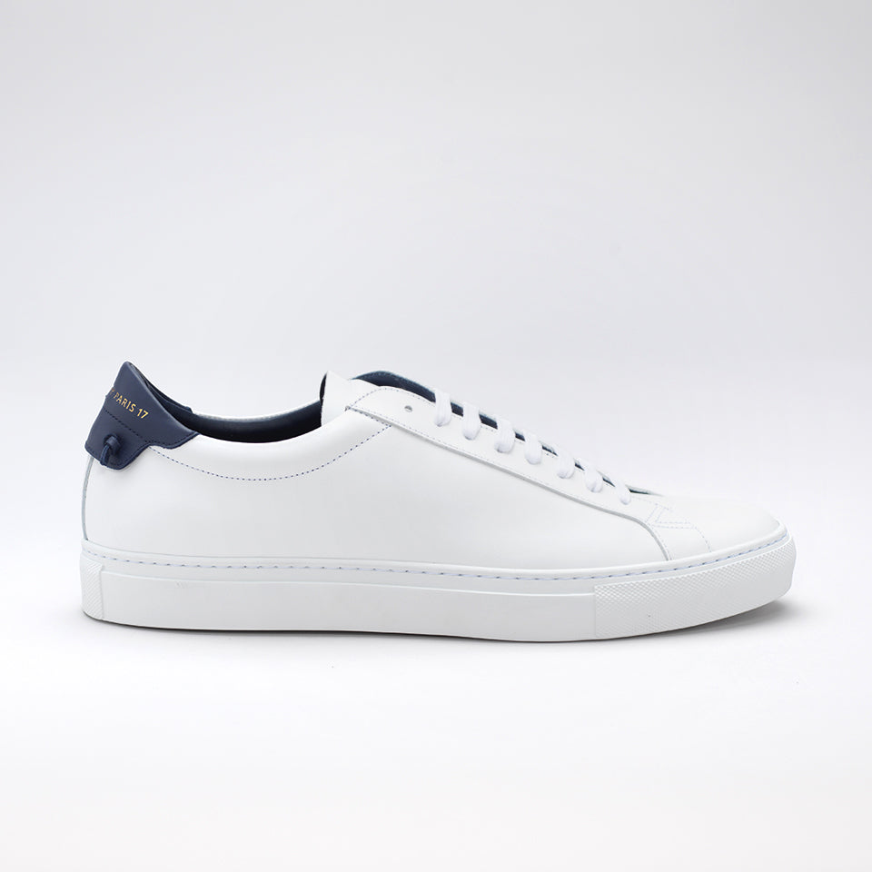 White and Navy Urban Street Sneakers Givenchy hhmYDz