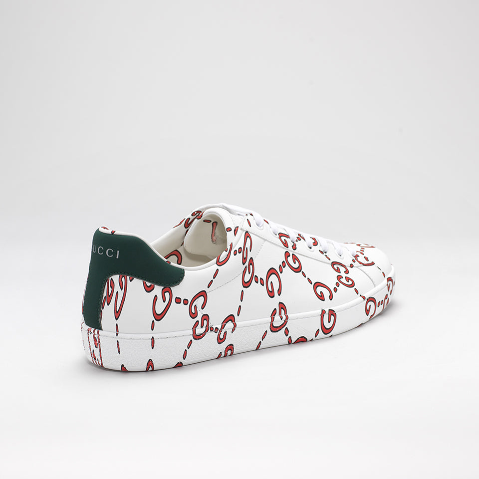 07524bd8f94 GUCCI NEW ACE GG LOW-TOP LEATHER SNEAKERS – Mr Trendz