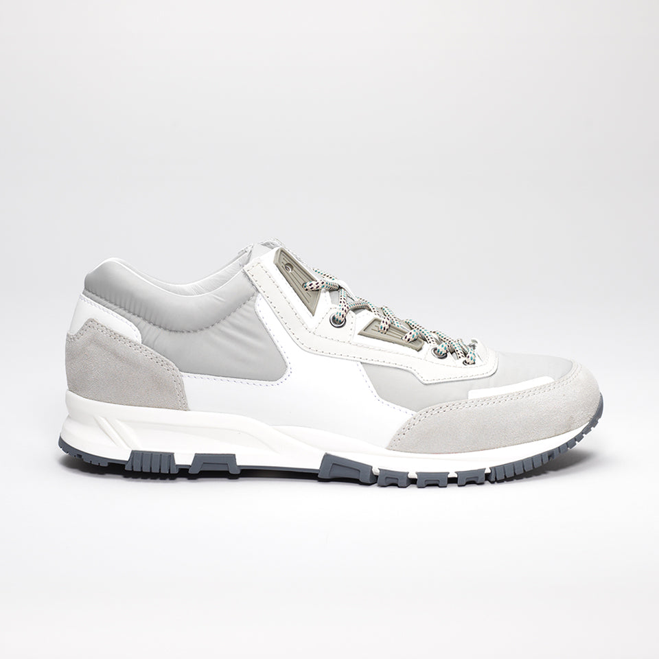 contrast panel sneakers - Grey Lanvin idT1FpnwK