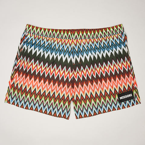 MISSONI ZIGZAG SWIMMING SHORT