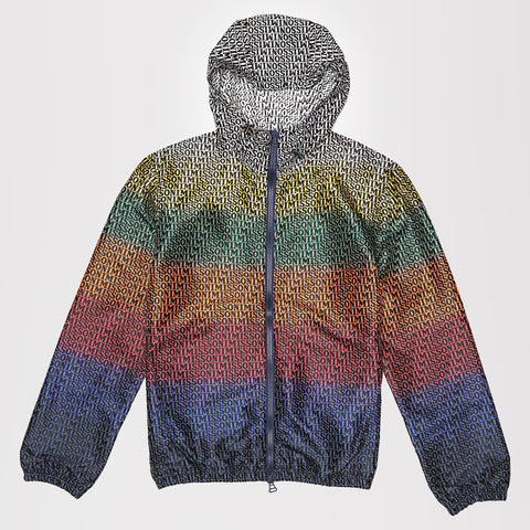 MISSONI PRINTED WINDBREAKER JACKET MULTI