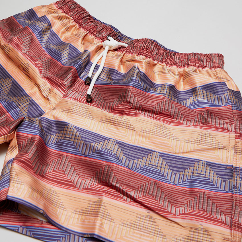 MISSONI ZIGZAG SWIMMING SHORT PINK