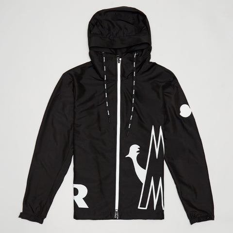 MONCLER MYHTHOS WINDBREAKER JACKET BLACK