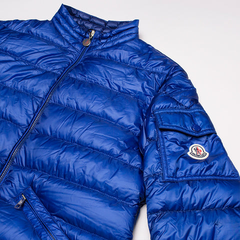 MONCLER AGAY PADDED JACKET BLUE