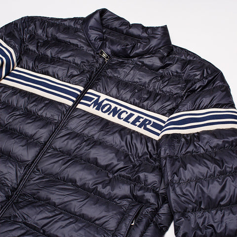 MONCLER RENALD BOMBER JACKET BLUE
