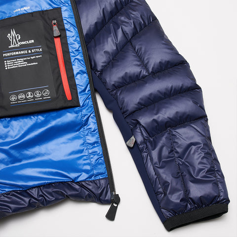 MONCLER CANMORE GIUBBOTTO JACKET BLUE
