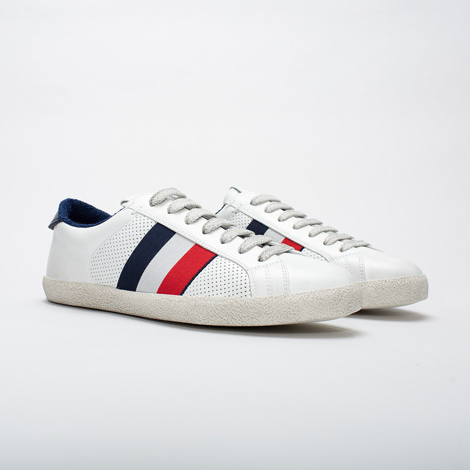 MONCLER RYEGRASS TRAINERS WHITE