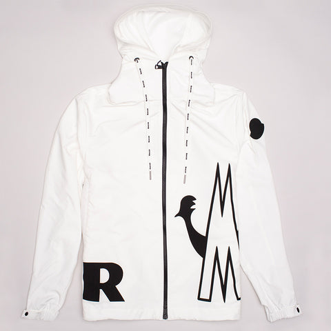 MONCLER MYHTHOS WINDBREAKER JACKET WHITE