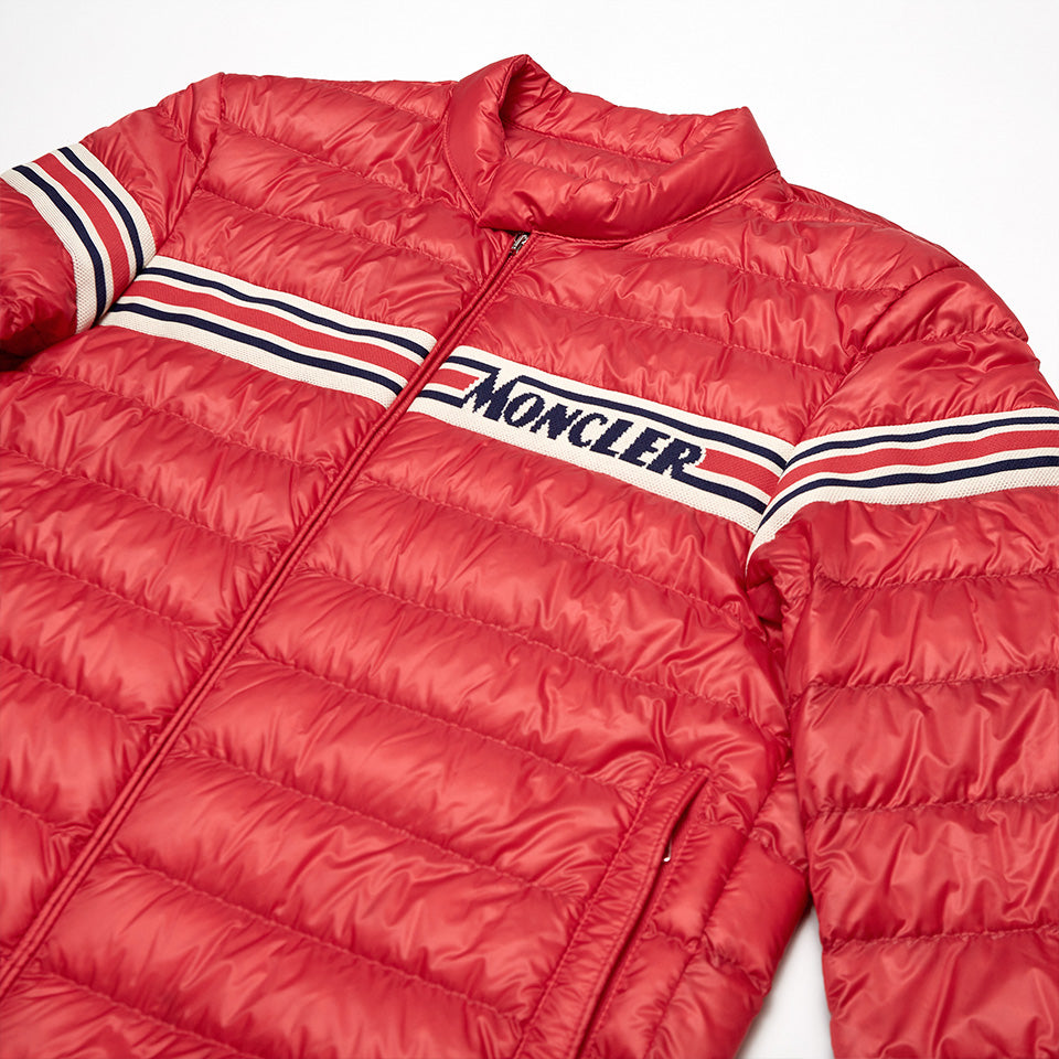 MONCLER RENALD BOMBER JACKET RED