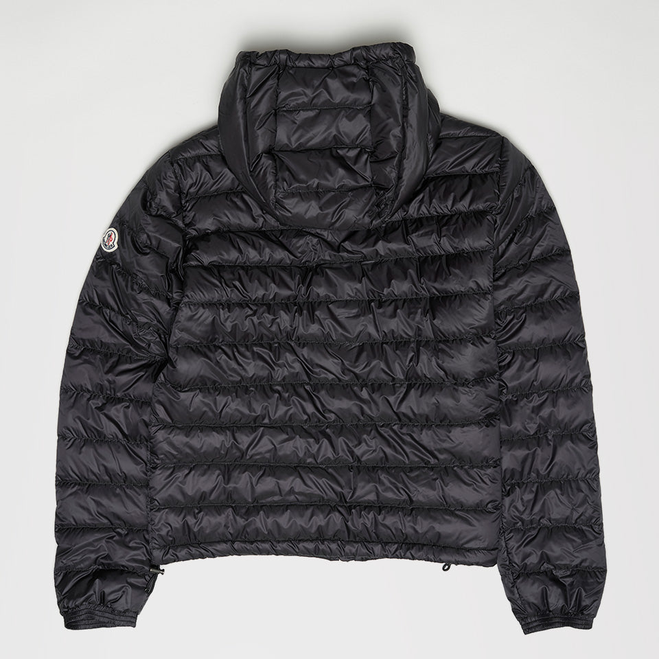 MONCLER ROOK QUILTED DOWN COAT BLACK