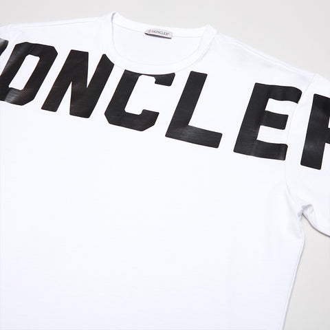 MONCLER GRAPHIC LOGO T-SHIRT WHITE