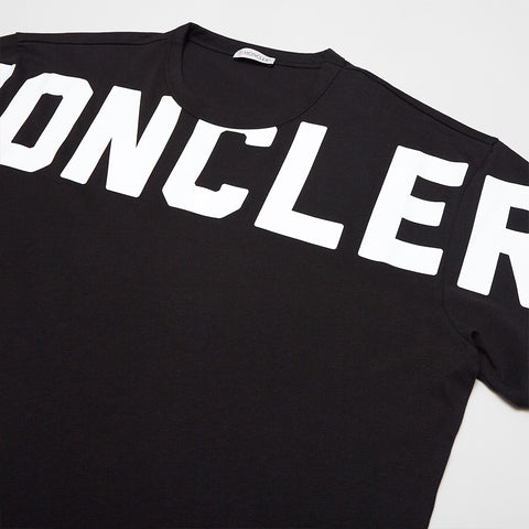 MONCLER GRAPHIC LOGO T-SHIRT BLACK
