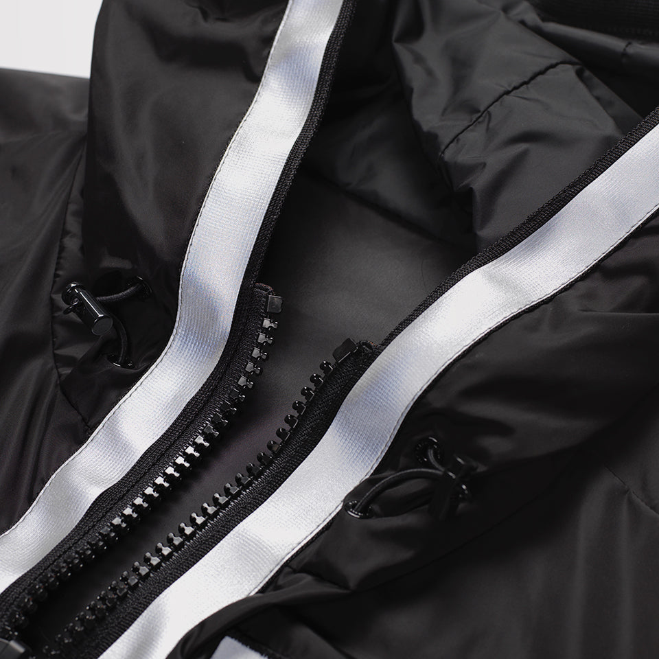 MONCLER C X CRAIG GREEN REFLECTIVE JACKET BLACK