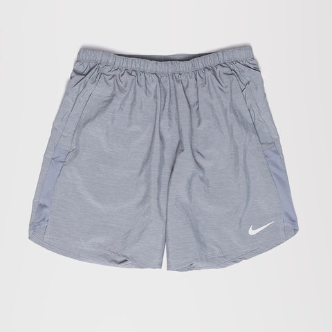 NIKE CHALLENGER BRIEF-LINED MENS RUNNING SHORTS GREY