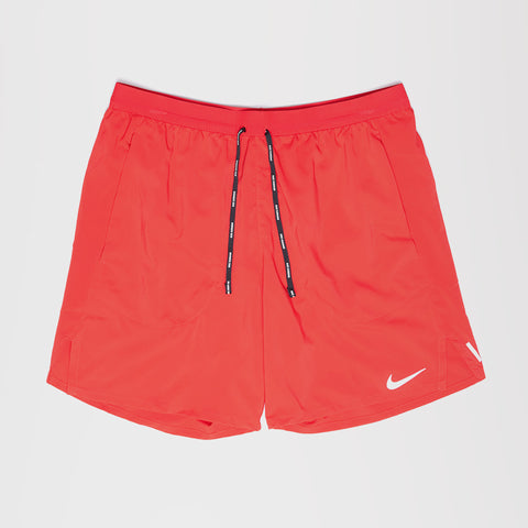 NIKE FLEX STRIDE MENS RUNNING SHORTS RED