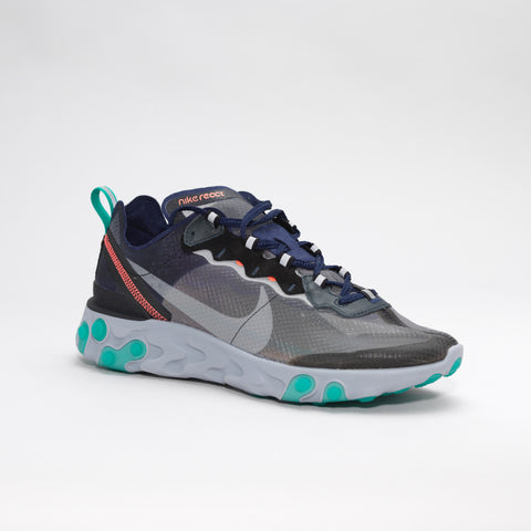 NIKE ELEMENT REACT 87 GREY/BLACK/GREEN