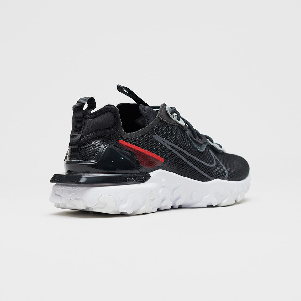 NIKE REACT VISION 3M BLACK/ANTHRACITE/RED