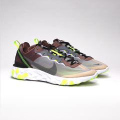 NIKE ELEMENT REACT 87 DESERT SAND COOL GREY