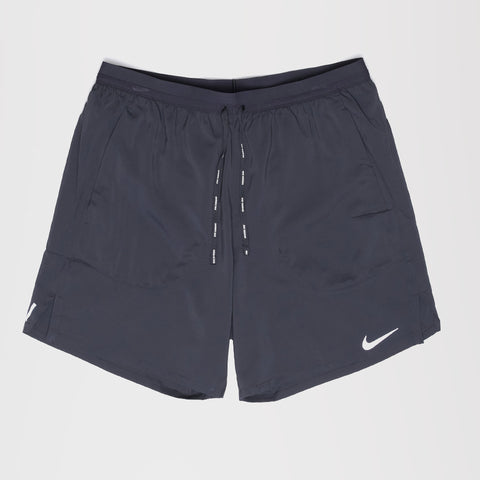 NIKE FLEX STRIDE MENS RUNNING SHORTS BLACK