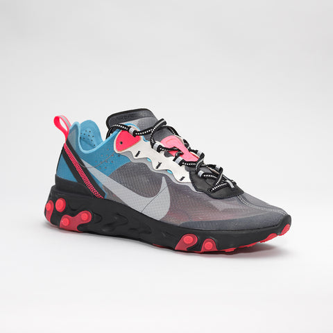 NIKE ELEMENT REACT 87 BLACK/BLUE/PINK