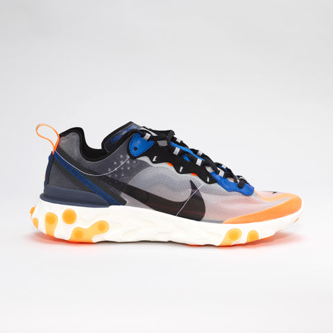 NIKE ELEMENT REACT 87 BLACK/WHITE/ORANGE