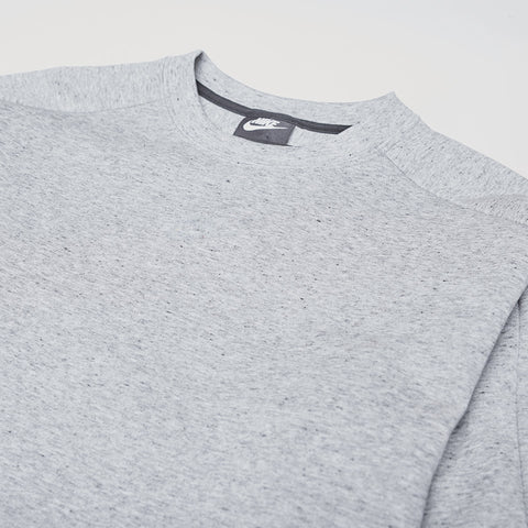 NIKE TECH FLEECE SWEATSHIRT GREY